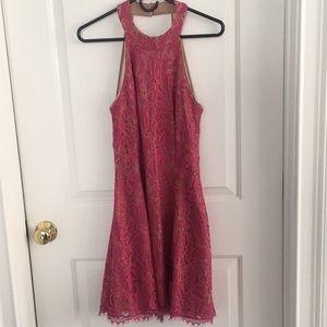 Dress the Population halter-style open-back dress